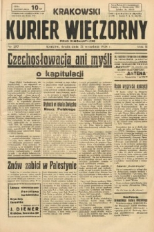 Krakowski Kurier Wieczorny : pismo demokratyczne. 1938, nr257
