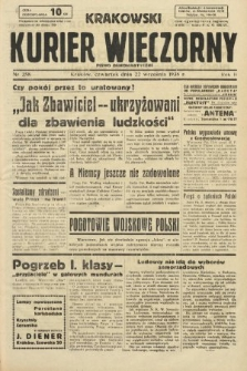 Krakowski Kurier Wieczorny : pismo demokratyczne. 1938, nr258