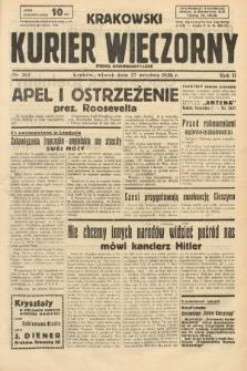 Krakowski Kurier Wieczorny : pismo demokratyczne. 1938, nr263