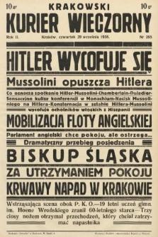 Krakowski Kurier Wieczorny : pismo demokratyczne. 1938, nr265
