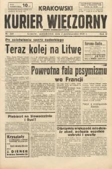 Krakowski Kurier Wieczorny : pismo demokratyczne. 1938, nr269