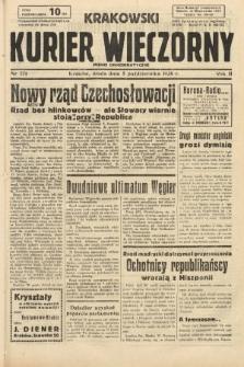 Krakowski Kurier Wieczorny : pismo demokratyczne. 1938, nr271