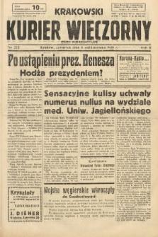Krakowski Kurier Wieczorny : pismo demokratyczne. 1938, nr272
