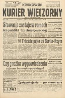 Krakowski Kurier Wieczorny : pismo demokratyczne. 1938, nr274