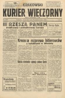 Krakowski Kurier Wieczorny : pismo demokratyczne. 1938, nr275