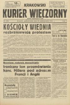 Krakowski Kurier Wieczorny : pismo demokratyczne. 1938, nr276
