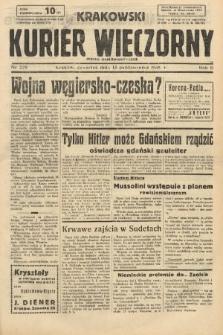 Krakowski Kurier Wieczorny : pismo demokratyczne. 1938, nr279