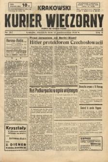 Krakowski Kurier Wieczorny : pismo demokratyczne. 1938, nr282