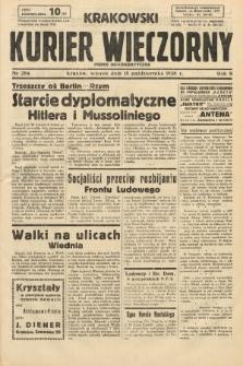 Krakowski Kurier Wieczorny : pismo demokratyczne. 1938, nr284