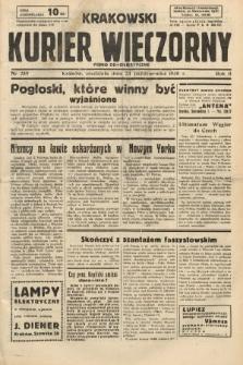 Krakowski Kurier Wieczorny : pismo demokratyczne. 1938, nr289