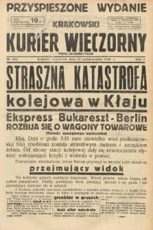 Krakowski Kurier Wieczorny : pismo demokratyczne. 1938, nr293