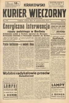 Krakowski Kurier Wieczorny : pismo demokratyczne. 1938, nr295