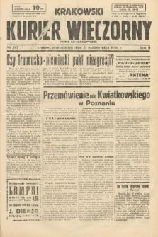 Krakowski Kurier Wieczorny : pismo demokratyczne. 1938, nr297
