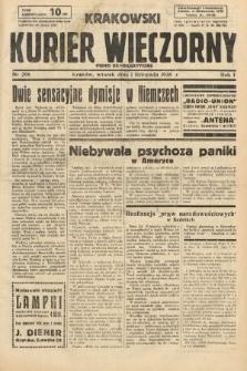 Krakowski Kurier Wieczorny : pismo demokratyczne. 1938, nr298