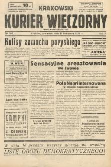 Krakowski Kurier Wieczorny : pismo demokratyczne. 1938, nr307