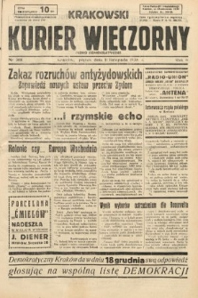 Krakowski Kurier Wieczorny : pismo demokratyczne. 1938, nr308