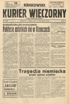 Krakowski Kurier Wieczorny : pismo demokratyczne. 1938, nr309
