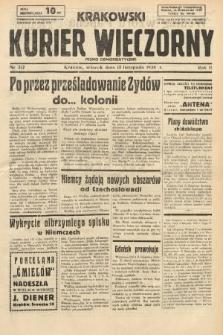 Krakowski Kurier Wieczorny : pismo demokratyczne. 1938, nr312