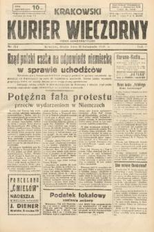 Krakowski Kurier Wieczorny : pismo demokratyczne. 1938, nr313