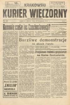 Krakowski Kurier Wieczorny : pismo demokratyczne. 1938, nr315