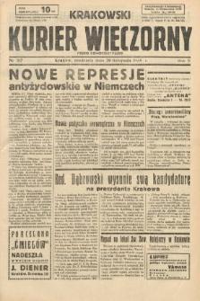 Krakowski Kurier Wieczorny : pismo demokratyczne. 1938, nr317