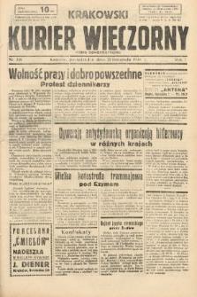 Krakowski Kurier Wieczorny : pismo demokratyczne. 1938, nr318