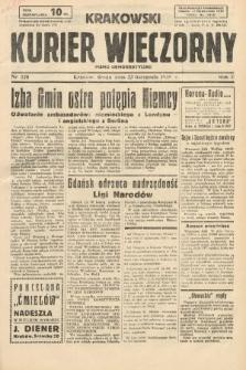 Krakowski Kurier Wieczorny : pismo demokratyczne. 1938, nr320