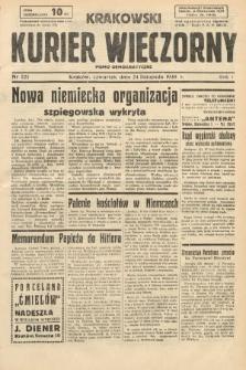Krakowski Kurier Wieczorny : pismo demokratyczne. 1938, nr321