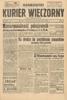 Krakowski Kurier Wieczorny : pismo demokratyczne. 1938, nr324