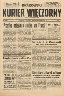 Krakowski Kurier Wieczorny : pismo demokratyczne. 1938, nr328