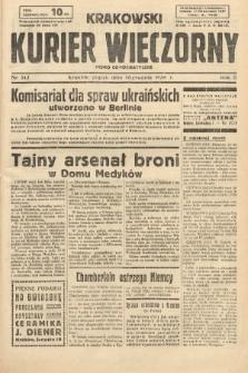 Krakowski Kurier Wieczorny : pismo demokratyczne. 1938, nr343