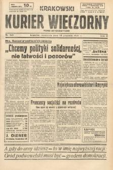 Krakowski Kurier Wieczorny : pismo demokratyczne. 1938, nr345