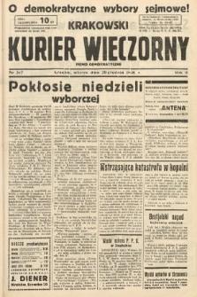 Krakowski Kurier Wieczorny : pismo demokratyczne. 1938, nr347