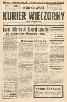 Krakowski Kurier Wieczorny : pismo demokratyczne. 1938, nr348