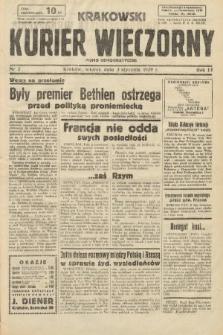 Krakowski Kurier Wieczorny : pismo demokratyczne. 1939, nr2
