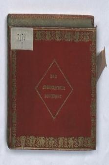 Sztambuch panny A. H[agen ?] z Moguncji z lat 1827-1833