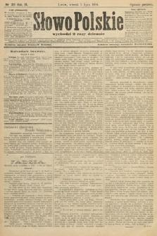 Słowo Polskie (wydanie poranne). 1904, nr312