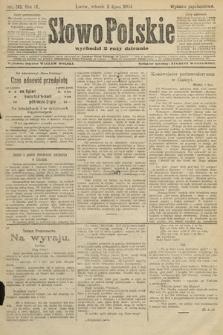 Słowo Polskie (wydanie popołudniowe). 1904, nr313
