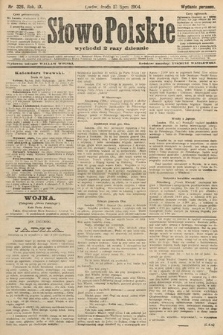 Słowo Polskie (wydanie poranne). 1904, nr326