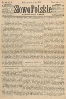Słowo Polskie (wydanie popołudniowe). 1904, nr329