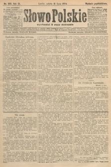 Słowo Polskie (wydanie popołudniowe). 1904, nr333