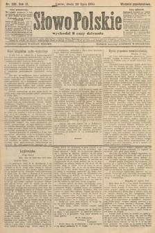 Słowo Polskie (wydanie popołudniowe). 1904, nr339