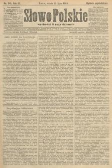 Słowo Polskie (wydanie popołudniowe). 1904, nr345