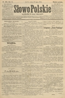 Słowo Polskie (wydanie poranne). 1904, nr350