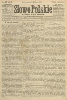 Słowo Polskie (wydanie popołudniowe). 1904, nr353