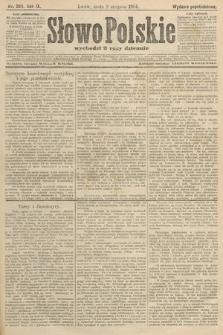 Słowo Polskie (wydanie popołudniowe). 1904, nr363