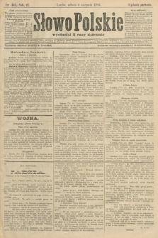 Słowo Polskie (wydanie poranne). 1904, nr368
