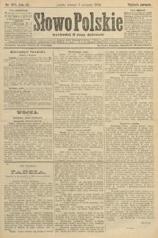 Słowo Polskie (wydanie poranne). 1904, nr372