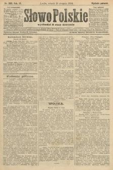 Słowo Polskie (wydanie poranne). 1904, nr383