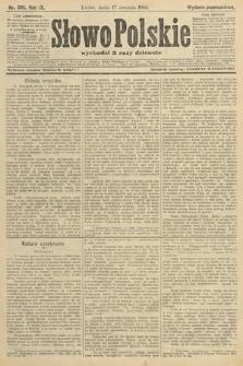 Słowo Polskie (wydanie popołudniowe). 1904, nr386